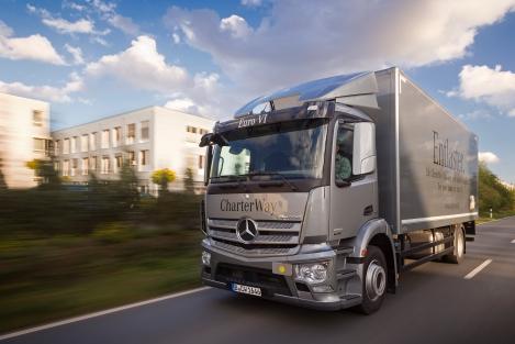 Daimler AG Distribution Drive Düsseldorf 2012
