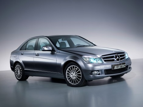Bluetec C 220 CDI Frontperspektive BF 005
