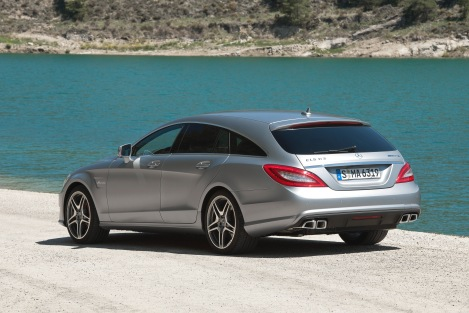 Mercedes-Benz CLS 63 AMG Shooting Brake, (X218), 2012