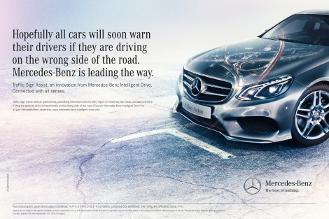 Mercedes-Benz Intelligent Drive Kampagne; Mercedes-Benz Intellig