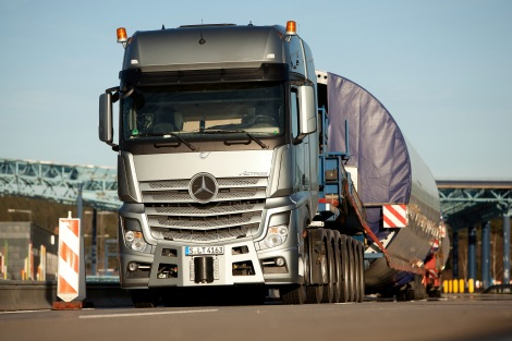 Mercedes-Benz Actros 4163 SLT Heavy Haulage Transport