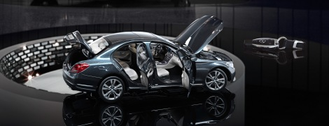 Neue C-Klasse Modellautos