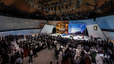 The new smart fortwo and forfour, World premiere, Berlin 2014Der neue smart fortwo und forfour, Weltpremiere, Berlin 2014