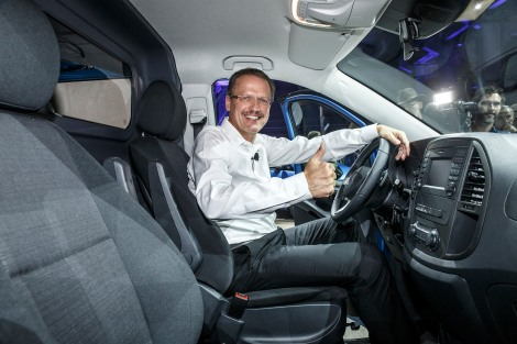 Mercedes-Benz Vito Weltpremiere am 28.07.2014 in Berlin