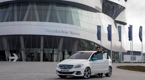 Besuch von OneRepublic bei Mercedes-Benz