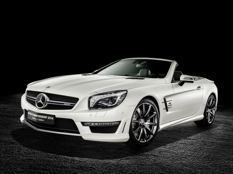 Mercedes-AMG SL 63 World Championship 2014 Collector's Edition