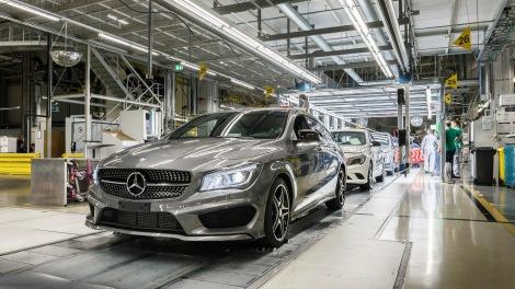 Mercedes-Benz Werk Kecskemét, Ungarn: Produktion CLA Shooting Brake Mercedes-Benz Kecskemét plant, Hungary: CLA Shooting Brake production